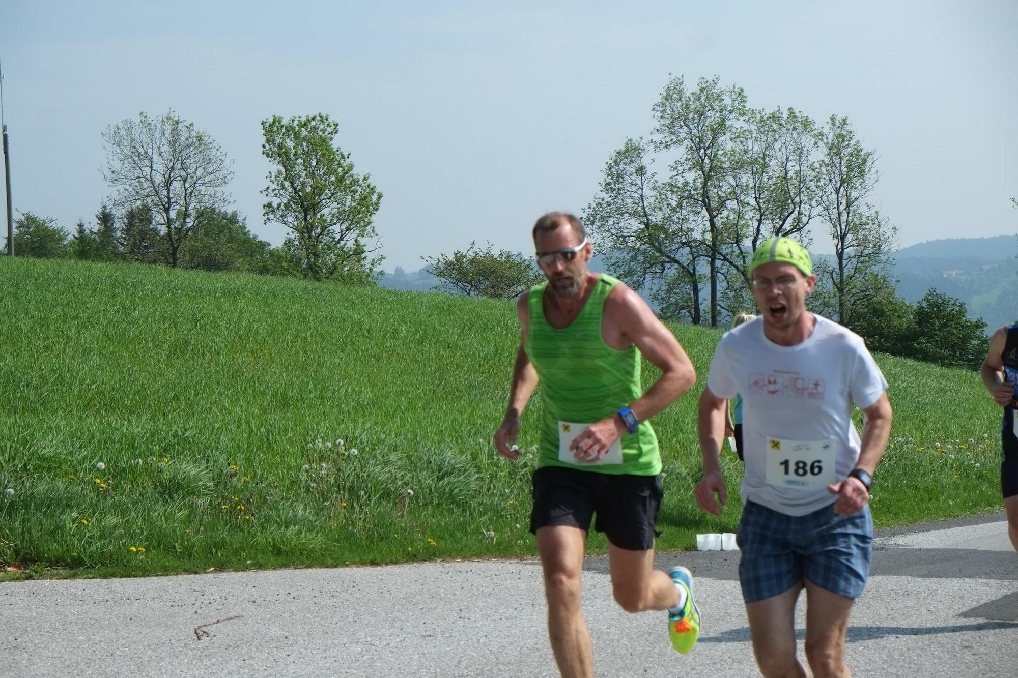 Drei-Hügel-Lauf Zöbern am 5. Mai 2018